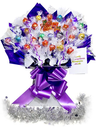 Christmas Lindt Chocolate Bouquet